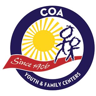 COA Youth & Family Centers Retina Logo