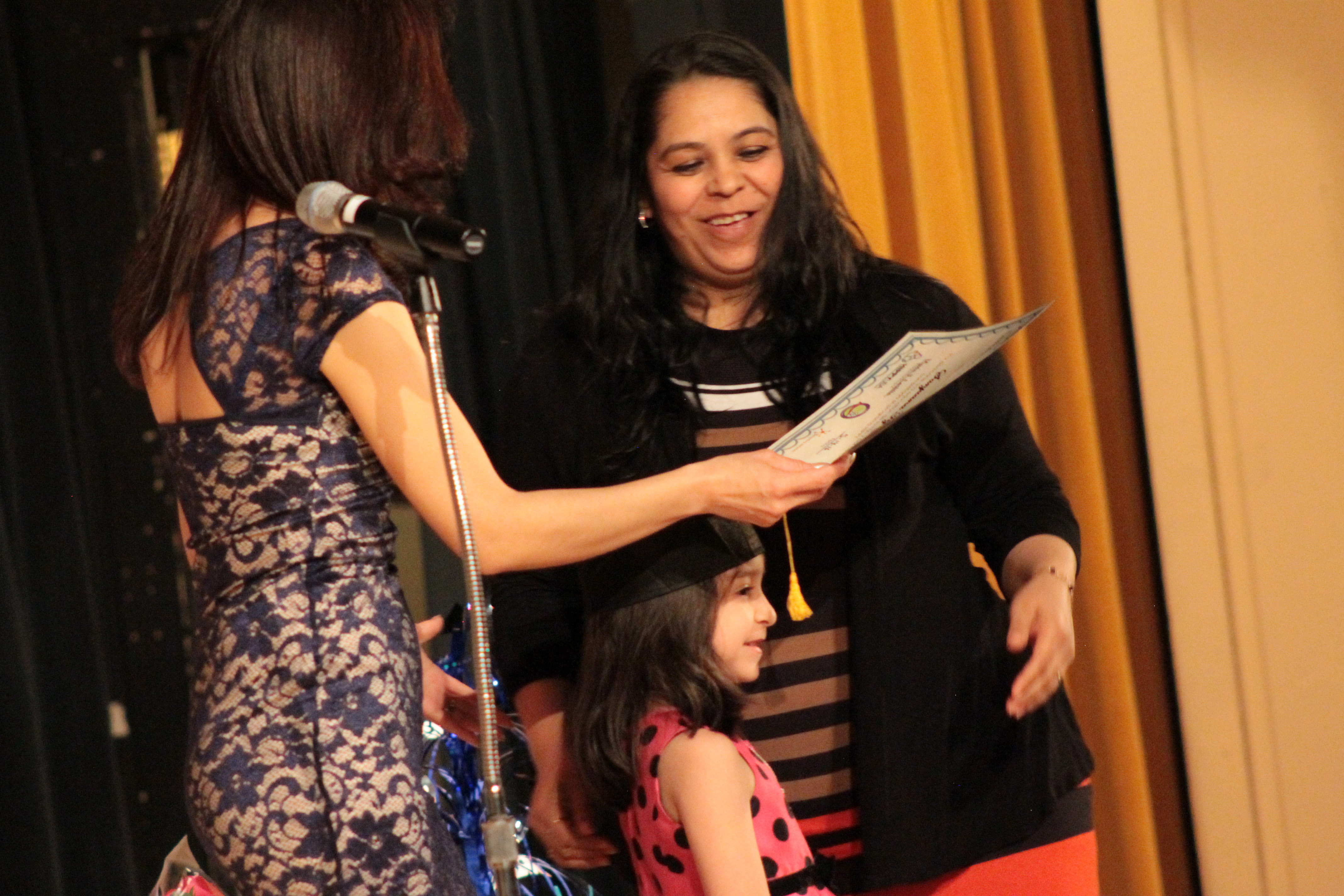 Mom and Daughter graduate from HIPPY